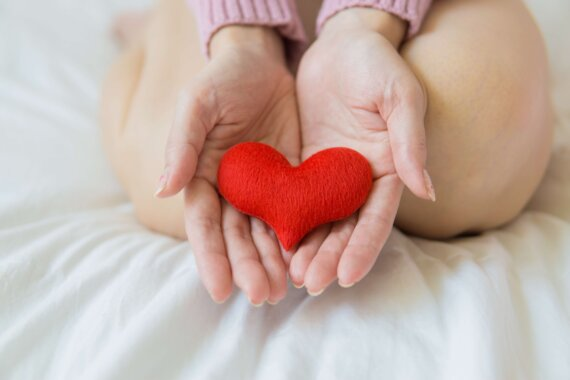 cradle your heart and care for it